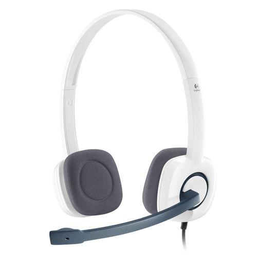 Comprar  - Auscultadores Logitech H150 Stereo Auscultadores cloud branco - In