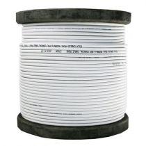 Comprar Cabos - NEXTVISION Bobine de cabo micro coaxial 100m branco