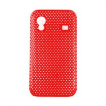 achat Protection Spéciale iPhone 4/4S - Grid Case iPhone 3G rouge