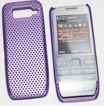 Cover - Grid Case NOKIA E52 viola