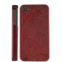 Protezione Speciale iPhone 4/4S - GLAMOUR CASE iPhone 4G rosso