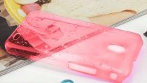 Protezione - GLAMOUR CASE SAMSUNG S8500 rosso