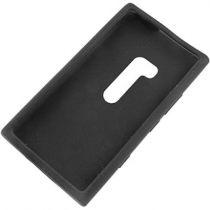 Custodie - Custodia Silicone per Nokia Lumia 900 Nero