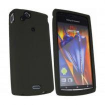 Comprar Bolsas - Bolsa Silicone Sony Ericsson Xperia S Preto