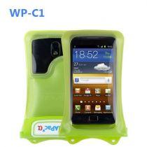 Bolsas Universais - Bolsa Estanque Dicapac WP-C1 para Smartphones verde
