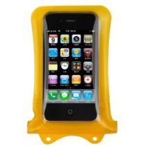 Custodie per iPhone - Custodia subacquea Dicapac WP-i10 per iphone Giallo