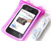 Bolsas Universais - Bolsa Estanque Dicapac WP-C1 para Smartphones Rosa