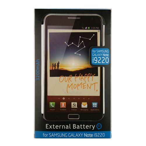 Comprar  - Bateria Externa Samsung Galaxy Note 3200mah Preta + Flipcase