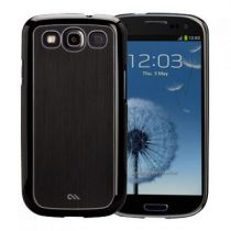 Comprar Acessórios Galaxy S3 - case-mate Barely There Case Brushed Aluminium Preto Galaxy S