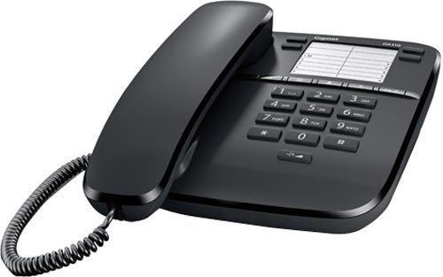 Comprar  - TELEFONE GIGASET EUROSET DA310 PRETO