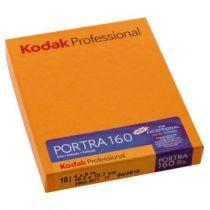 achat Film négatif couleur - 1x10 Kodak Portra 160 4x5
