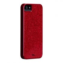Accessori Apple iPhone 5/5S / SE - case-mate Glam Snap On Cover red iPhone 5 CM022470
