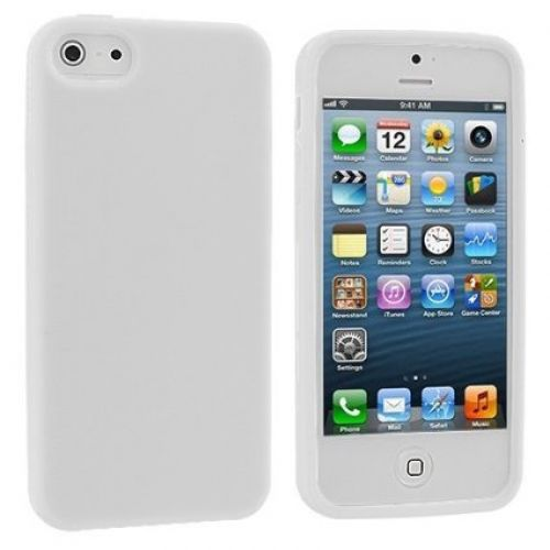Comprar  - Bolsa Silicone para Apple iPhone 5 Branca