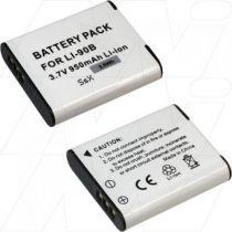 achat Batteries pour Olympus - Batterie OLYMPUS Li90B Li92B Tough TG-1, TG-1 His, TG-1 iHS