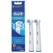 Revenda Higiene Dentária Acessórios - Braun Oral-B electric toothbrush head Interspace 2-parts