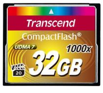 Compact Flash - Transcend Compact Flash 32GB 1000x