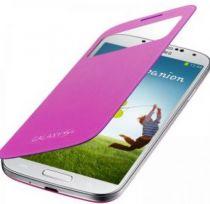 Comprar Acessórios Galaxy S4 i9500 - Samsung S-View Cover EF-CI950B, Rosa ( EF-CI950PWEGWW )