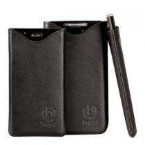 Bolsas - Bolsa Pele Bugatti 08258 SlimFit LG Optimus G black