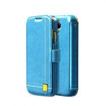 Accessori Galaxy S4 i9500 - Zenus ZCG4COBL Masstige Color Point Diary  Galaxy S4 blue