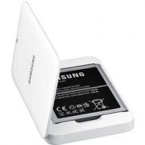 Revenda Baterias Samsung - Carregador Bateria + Bateria Galaxy Mega i9205 Branco