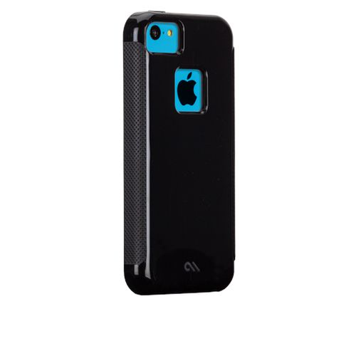 Case-Mate Pop per Apple iPhone 5c Nero / Nero