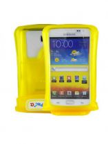 Custodie Subacquee - Custodia Subacquea Dicapac WP-C2 Giallo Samsung Galaxy Note