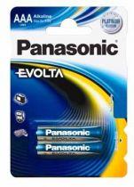 Batterie - Batterie 1x2 Panasonic Evolta LR03 Micro