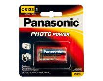 Batterie - Batterie 1 Panasonic Photo CR123 A