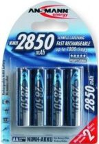 Batterie ricaricabili - Batteria ricaricab. 1x4 Ansmann NiMH 2850 Mignon AA 2650 mAh