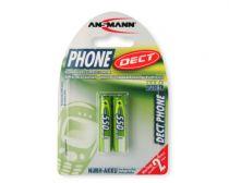 Batterie ricaricabili - Batteria ricaricab. 1x2 Ansmann maxE NiMH Micro AAA 550 mAh