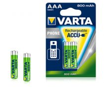 Batterie ricaricabili - Batteria ricaricab. 1x2 Varta Professional NiMH 800 mAh AAA