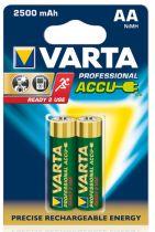 Batterie ricaricabili - Batteria ricaricab. 1x2 Varta AA NiMH 2600 mAh Mignon