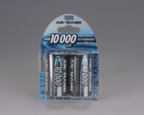 Revenda Pilhas Recarregáveis - Pilha Recarreg. 1x2 Ansmann NiMH 10000 Mono D 9300 mAh
