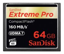 Compact Flash - SanDisk Extreme Pro CF 64GB 160MB/s SDCFXPS-064G-X46