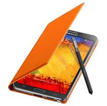 Accessori Galaxy Note 3  - Samsung S Flip Cover EF-WN900 Note 3 N9005, Wild Orange