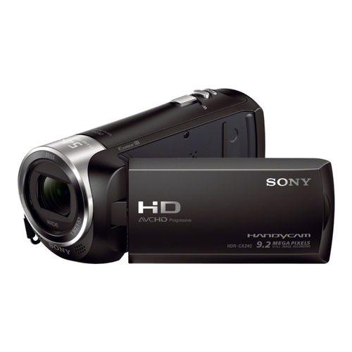 Comprar  - Câmara vídeo Sony HDR-CX240EB preto