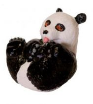 Figurini Animali - Educational Panda BABY Figure  (4cm)