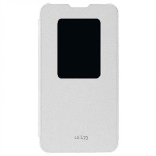 - Bolsa LG Flip Case with Window CCF-400 for L70 Branco Fotografias