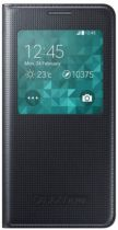 Accessori Galaxy Alpha - Samsung S-View Cover EF-CG850 Galaxy Alpha, Black