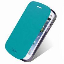Flip Case Samsung - Custodie Flip Case azzurro Samsung Galaxy Trend Lite S7390 /