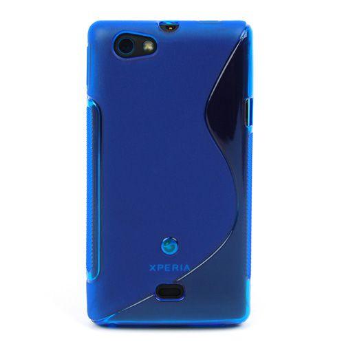 Comprar  - Bolsa Sony Xperia miro ST23I azul tpu