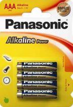 Revenda Pilhas - Pilhas 1x4 Panasonic Alkaline Power Micro AAA LR03