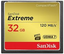 Compact Flash - SanDisk Extreme CF 32GB 120MB/s UDMA7 SDCFXSB-032G-G46
