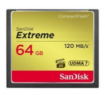 Compact Flash - SanDisk Extreme CF 64GB 120MB/s UDMA7 SDCFXSB-064G-G46