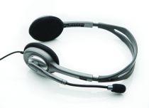 Cuffie Logitech - Cuffia Logitech H110 Stereo Cuffia Argento retail