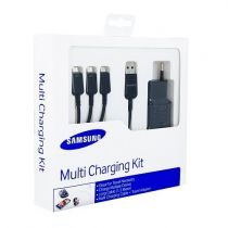 Caricabatterie Samsung - Kit Multi Carittore Samsung micro-USB ET-KG900EBEGWW Univers