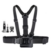 Supporti Videocamara Action  - mantona Chest Strap steady per GoPro
