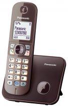 Comprar Telefones DECT sem Fios - Telefone Panasonic KX-TG6811GA mocca-brown