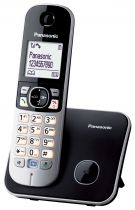 Telefoni cordless DECT - Telefono Panasonic KX-TG6811GB Nero