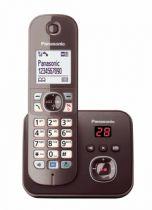 Comprar Telefones DECT sem Fios - Telefone Panasonic KX-TG6821GA mocca brown
